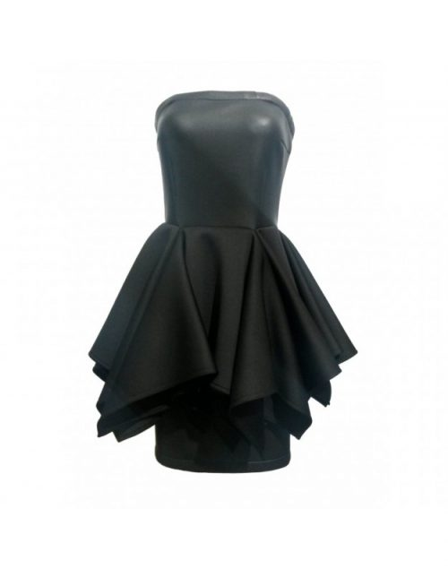 Black dress neopren