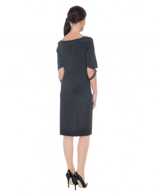 TAURIA DRESS BLACK